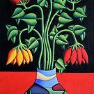 Softvase avec flowers by Alan Kenny