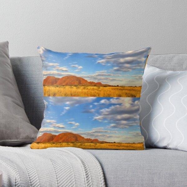 Kata Tjuta Central Australia Throw Pillow