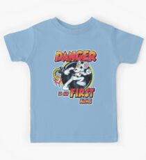 Danger is my First Name Kids Clothes