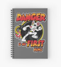 Danger is my First Name Spiral Notebook