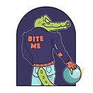 Alley Gator by strangethingsA
