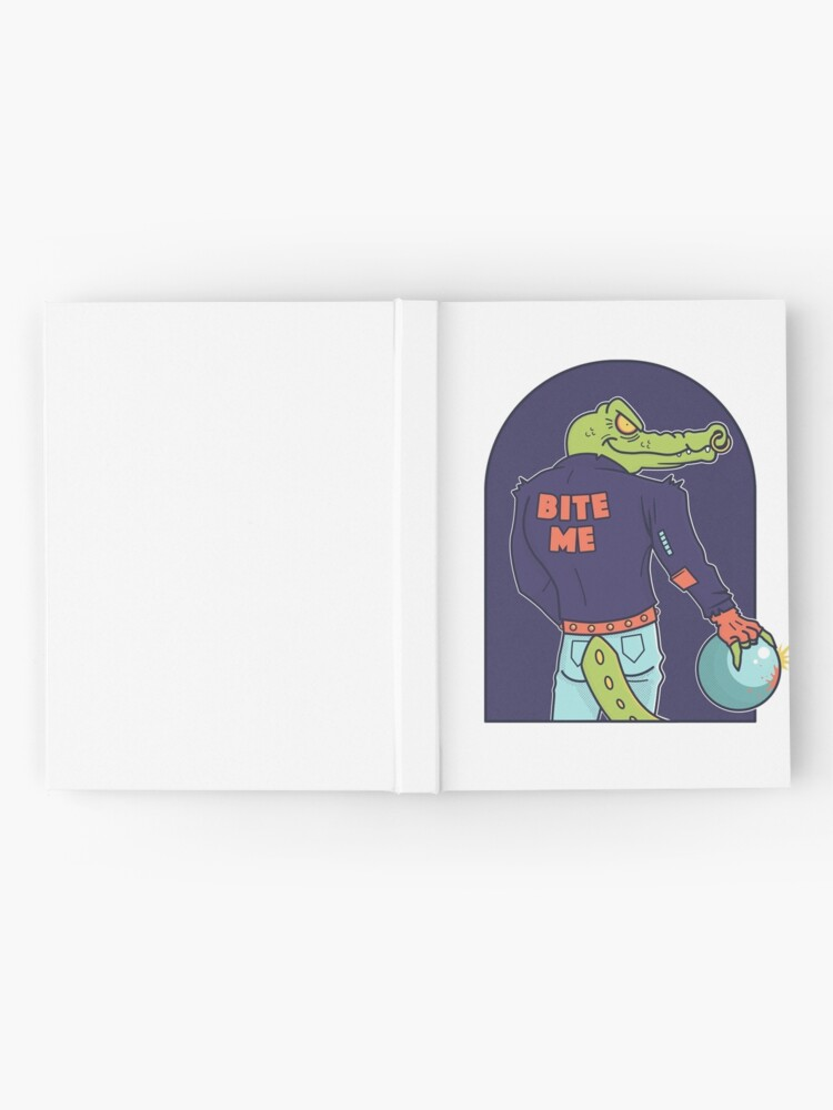 Alternate view of Alley Gator Hardcover Journal