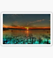 Opalescent Sunset Sticker