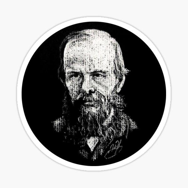 Dostoevsky in a Circle! Sticker