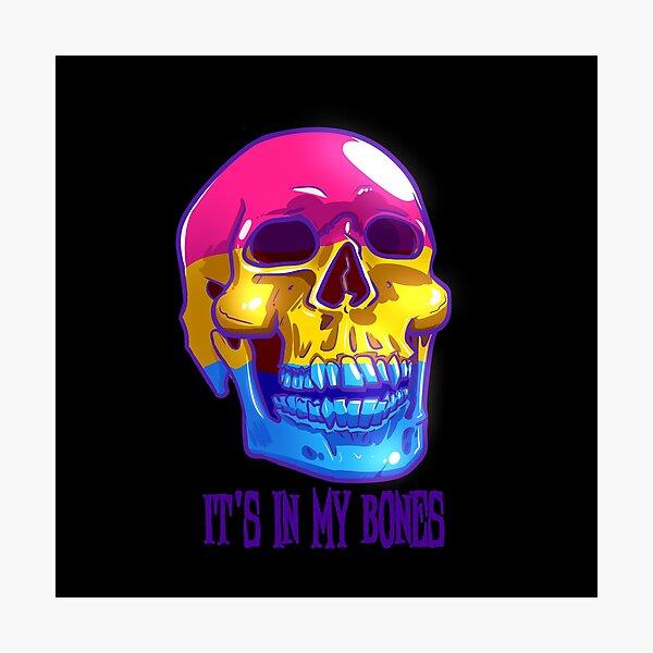 Pan Pride: It's In My Bones Photographic Print