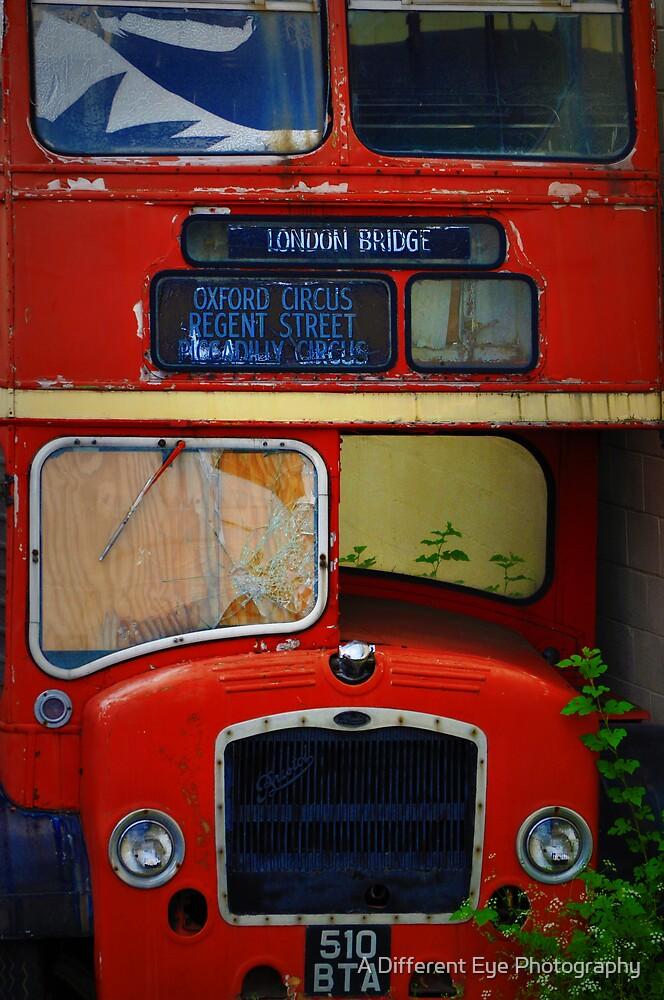 London Bridge Double Decker Bus In TN by Heather A McGhee