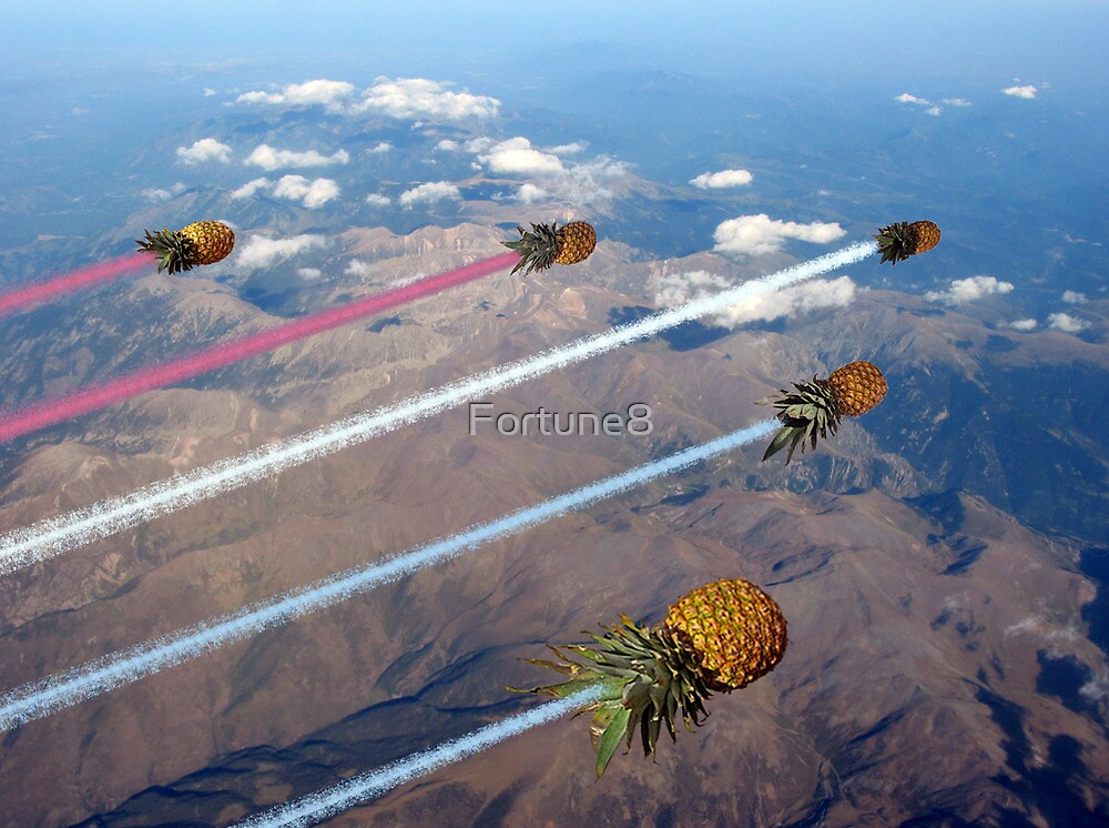Pineapple Arrows Display Team by Fortune8