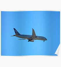 Boeing 787 Dream Liner Poster