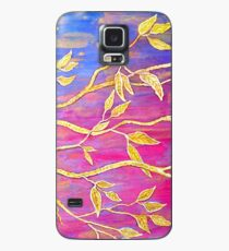 Golden Leaves Case/Skin for Samsung Galaxy
