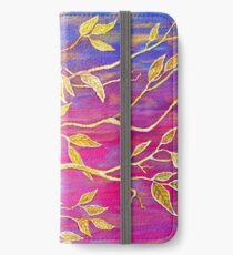 Golden Leaves iPhone Wallet/Case/Skin