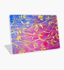 Golden Leaves Laptop Skin
