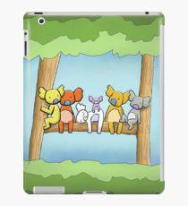 Multi coloured cute koala in a tree iPad Case/Skin