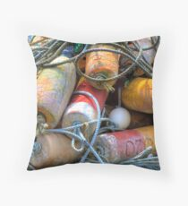Ropes & Floats Throw Pillow