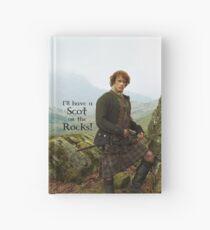 Ich werde einen Schotten auf den Felsen haben! Notizbuch