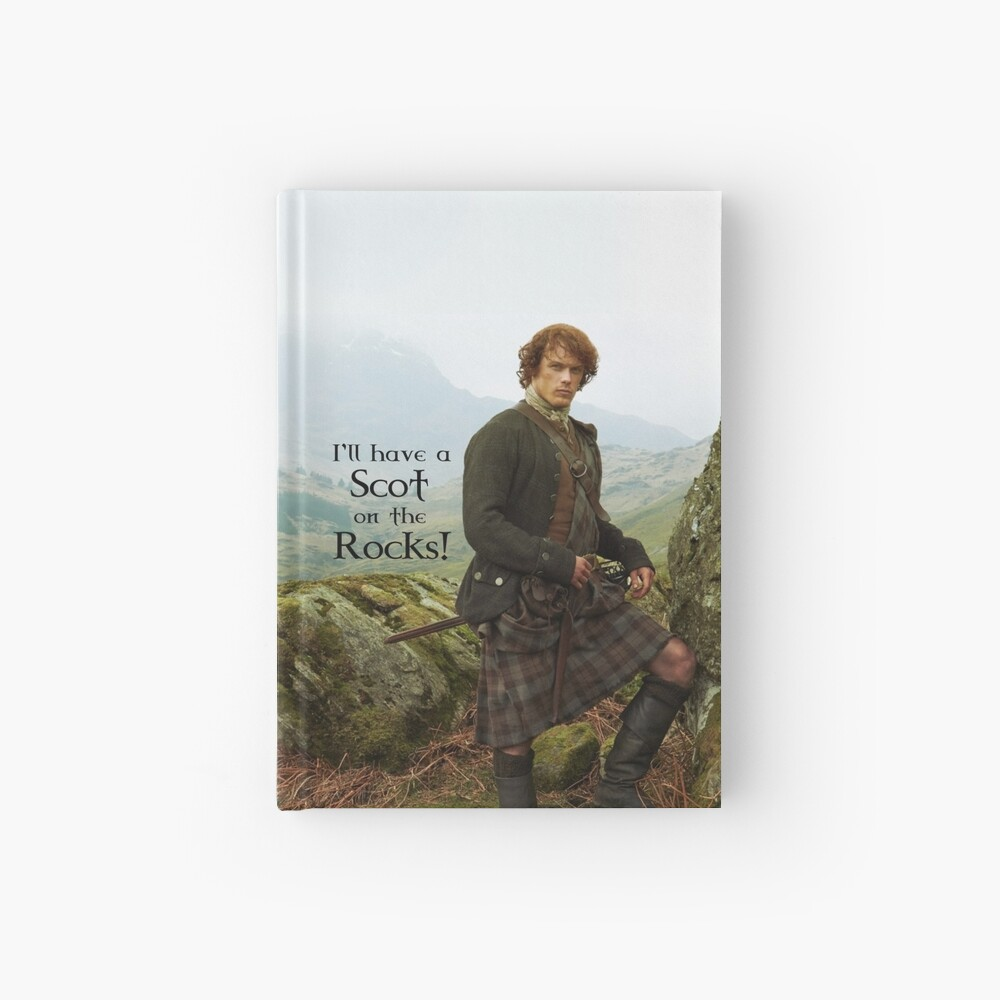 I'll have a Scot on the Rocks!  Hardcover Journal