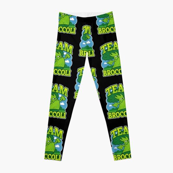Team Broccoli - Funny Broccoli Sports Leggings