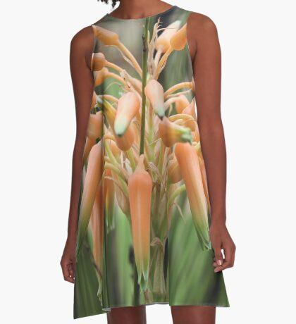 Aloe cooperi - flower A-Line Dress