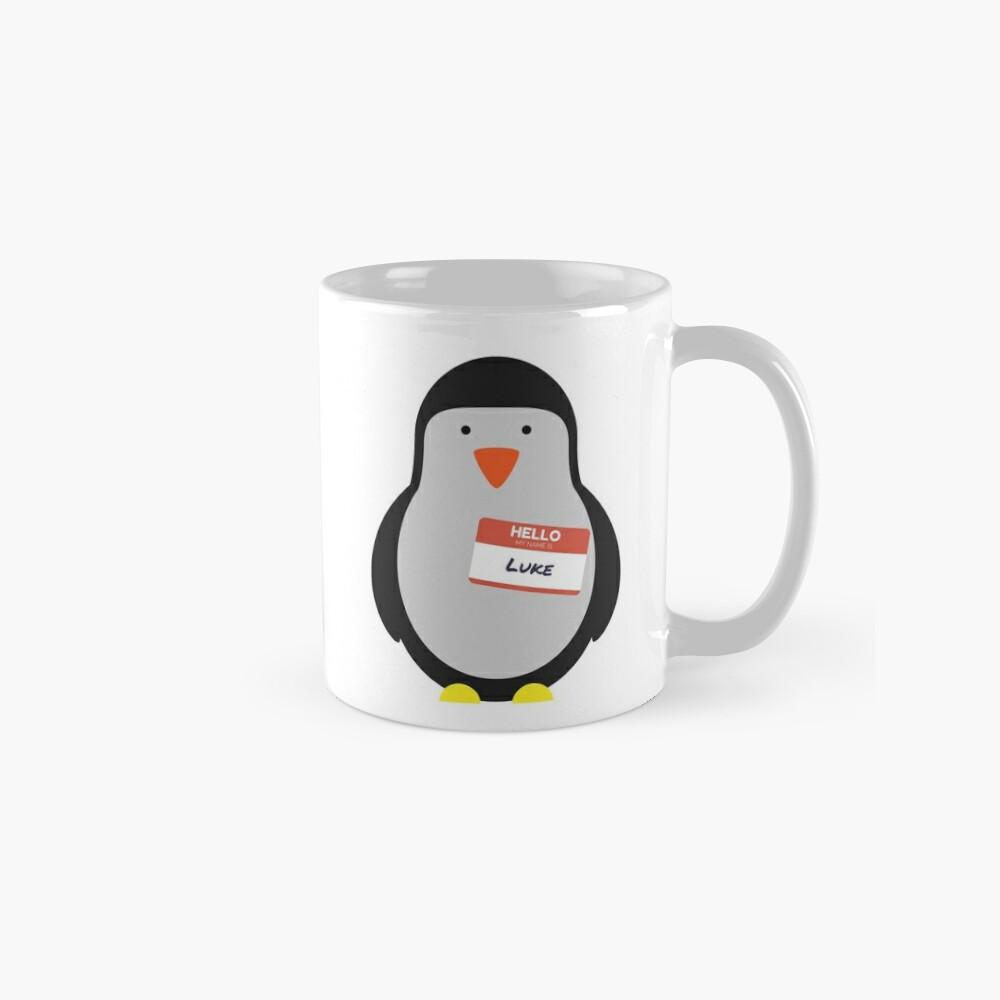 Luke Hemmings 5sos Pinguin Tassen