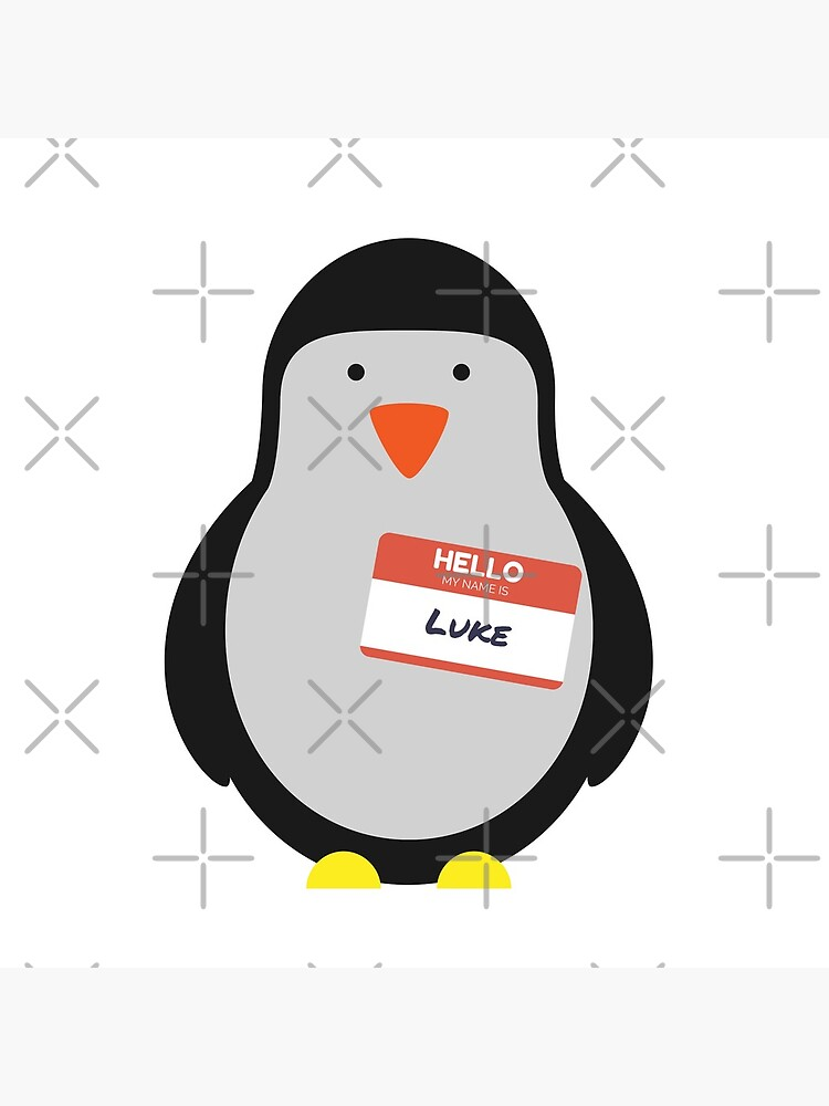 Luke Hemmings 5sos Pinguin von InspiredByMusic