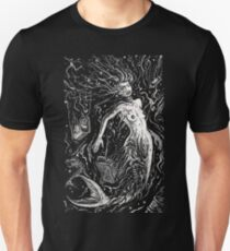 The Mermaids Pollution Torment (for dark background) T-Shirt