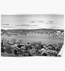 VIEW OF THE SUSQUEHANNA RIVER Poster