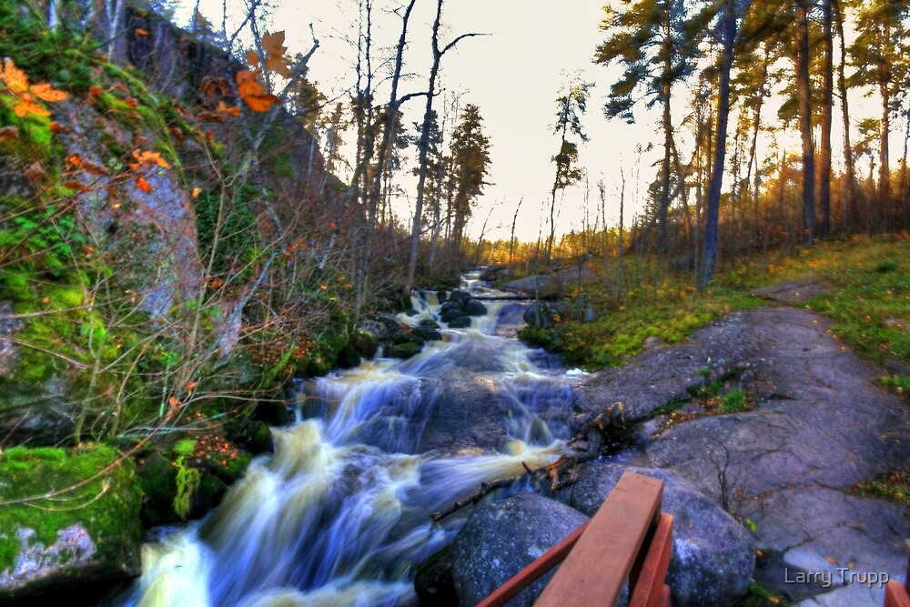 McGillivray Falls by Larry Trupp