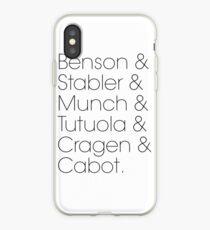 Law & Order SVU Squad iPhone Case