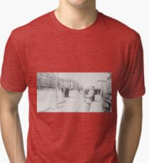 #standing, #pedestrian, #people, #adult, group, war, military, photography Tri-blend T-Shirt
