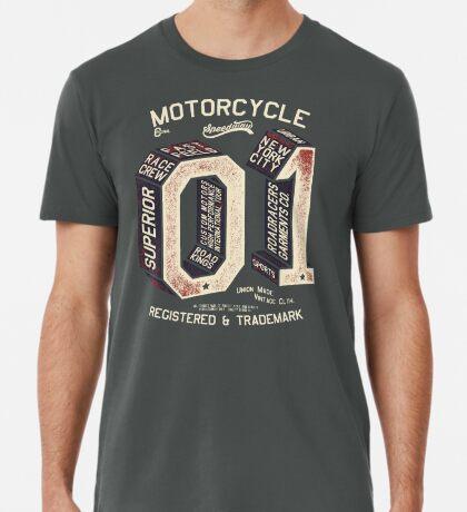 Motorcycle 01 New York Premium T-Shirt