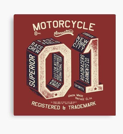 Motorcycle 01 New York Canvas Print