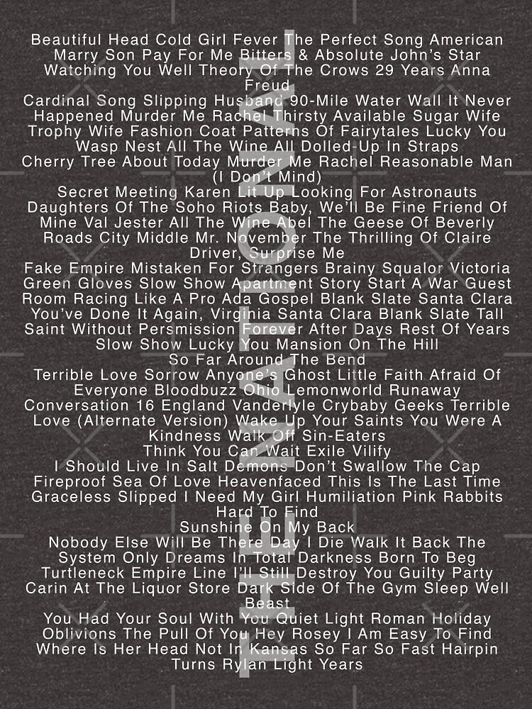 The National - Alle Songs mit IAETF von TheN