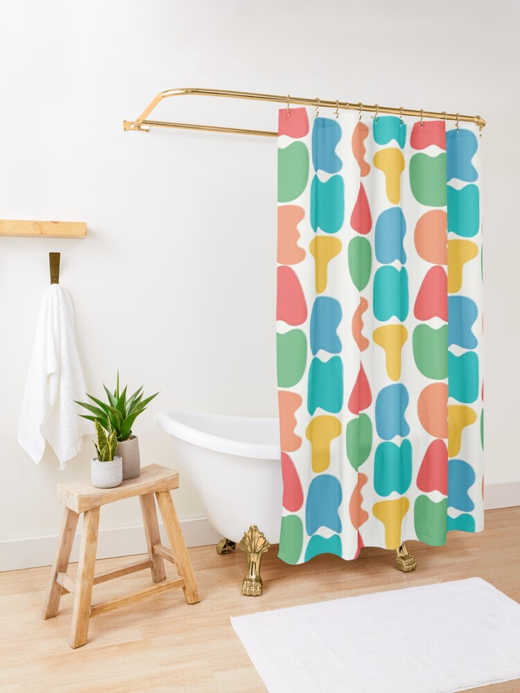 Alternate view of Bold Nature Shower Curtain