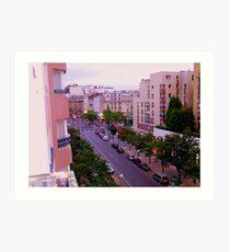 rue Linois central Paris!!! Art Print