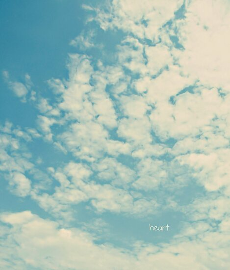 i heart clouds by Angel Warda