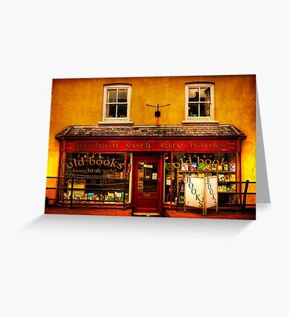 Bookshop Greeting Card