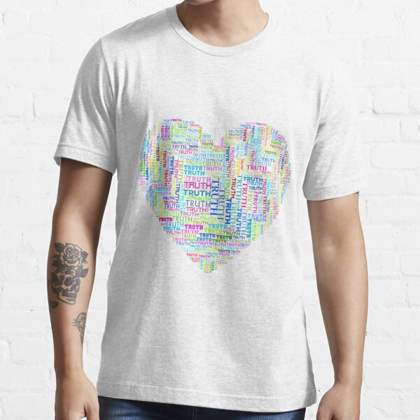 Heart of Truth, Love is Truthful SWP02 Essential T-Shirt