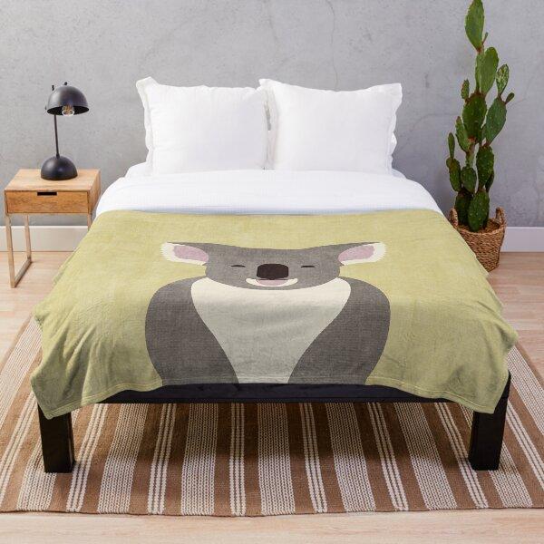 FAUNA / Koala Bear Throw Blanket