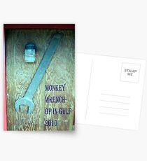 BP's Monkey Wrench Award Postcards