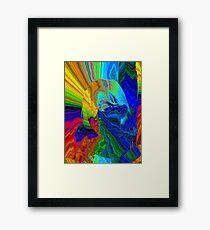 She's A Rainbow Framed Print
