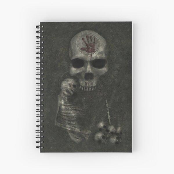 Dark Brotherhood Door Spiral Notebook