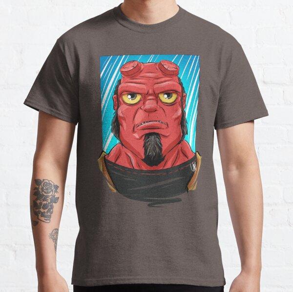 Pop Culture Caricature #10 - Hellboy Classic T-Shirt