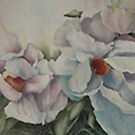 Magnolia blossoms by Ellen Keagy