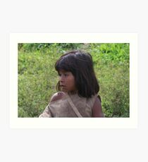 Tayrona Indian child  Art Print