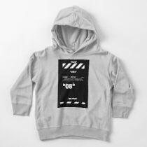 Black Wallpaper Toddler Pullover Hoodie