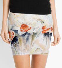 Dancing Daffodils Mini Skirt
