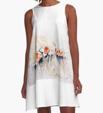 Dancing Daffodils A-Line Dress