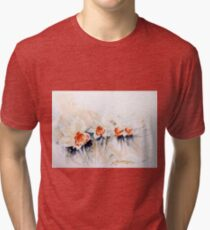 Dancing Daffodils Tri-blend T-Shirt