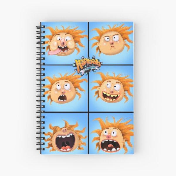 The Aubrey Bunch Spiral Notebook