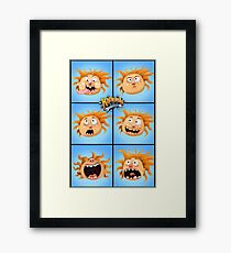 The Aubrey Bunch Framed Print