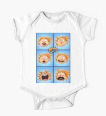 The Aubrey Bunch Short Sleeve Baby One-Piece